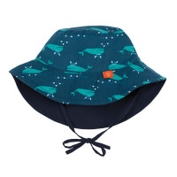 Sonnenhut Sun Protection Bucket Hat, Blue Whale