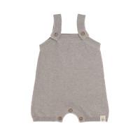 Baby Jumpsuit - Knitted Jumpsuit GOTS, Garden Explorer Grau