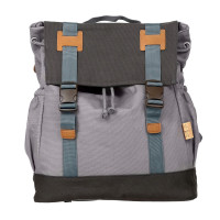 Wickelrucksack Little One & Me Backpack big, grey