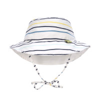 Sonnenhut für Kinder - Sun Protection Bucket Hat, Little Sailor navy
