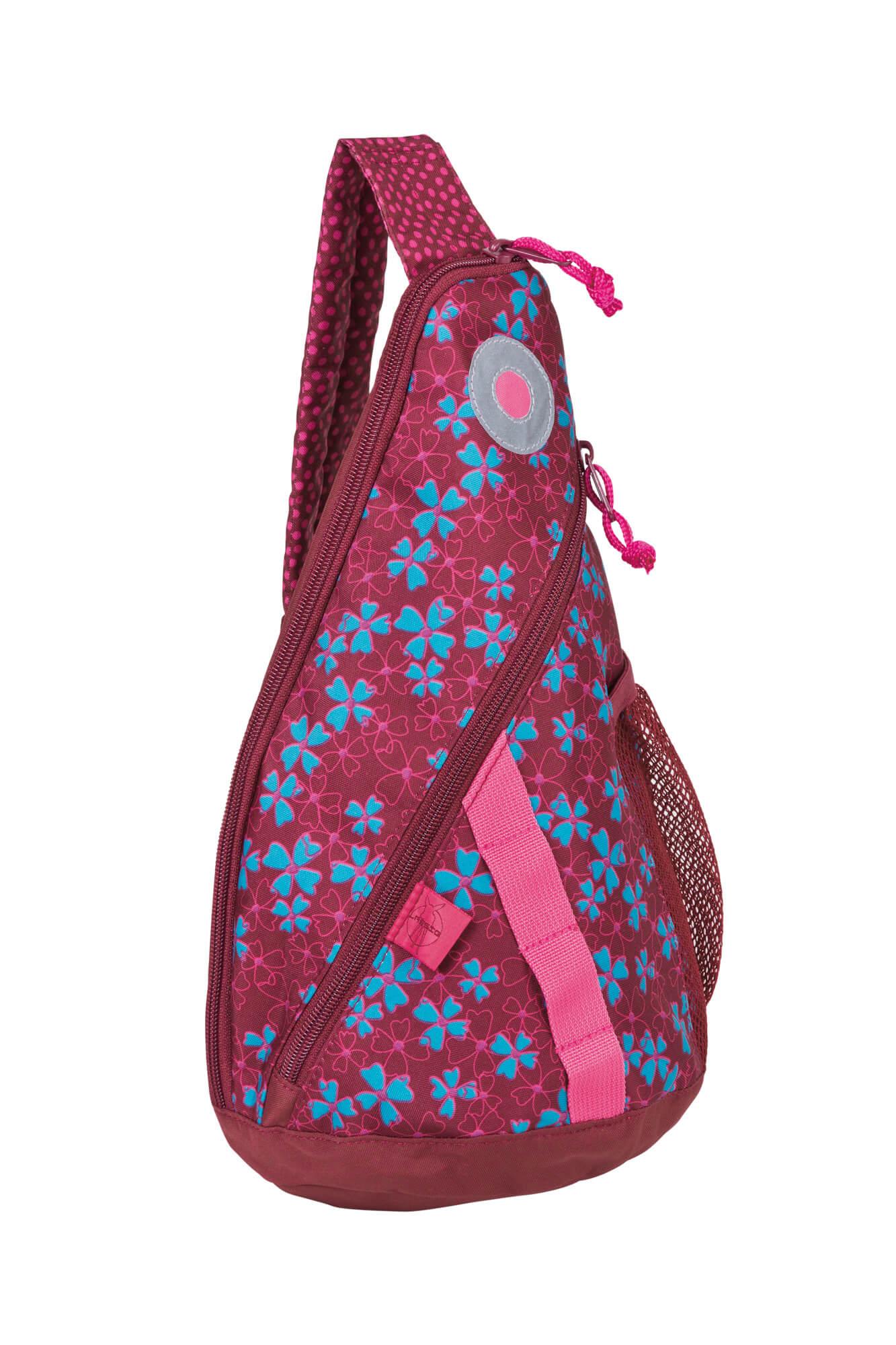 Rucksack mini sling bag blossy pink lÄssig fashion