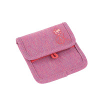 Brustbeutel -  Mini Neck Pouch, About Friends Mélange Pink