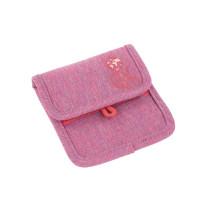 Brustbeutel -  Mini Neck Pouch, About Friends Mélange Pink
