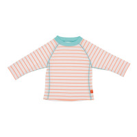 UV-Shirts Rashguard Long Sleeve Girls, Sailor Peach