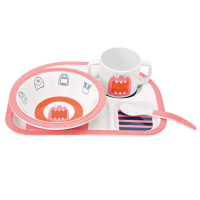 Kindergeschirr Set - Dish Set, Little Monsters Mad Mabel