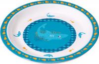 Kinderteller Plate Melamin, Wildlife Shark Ocean