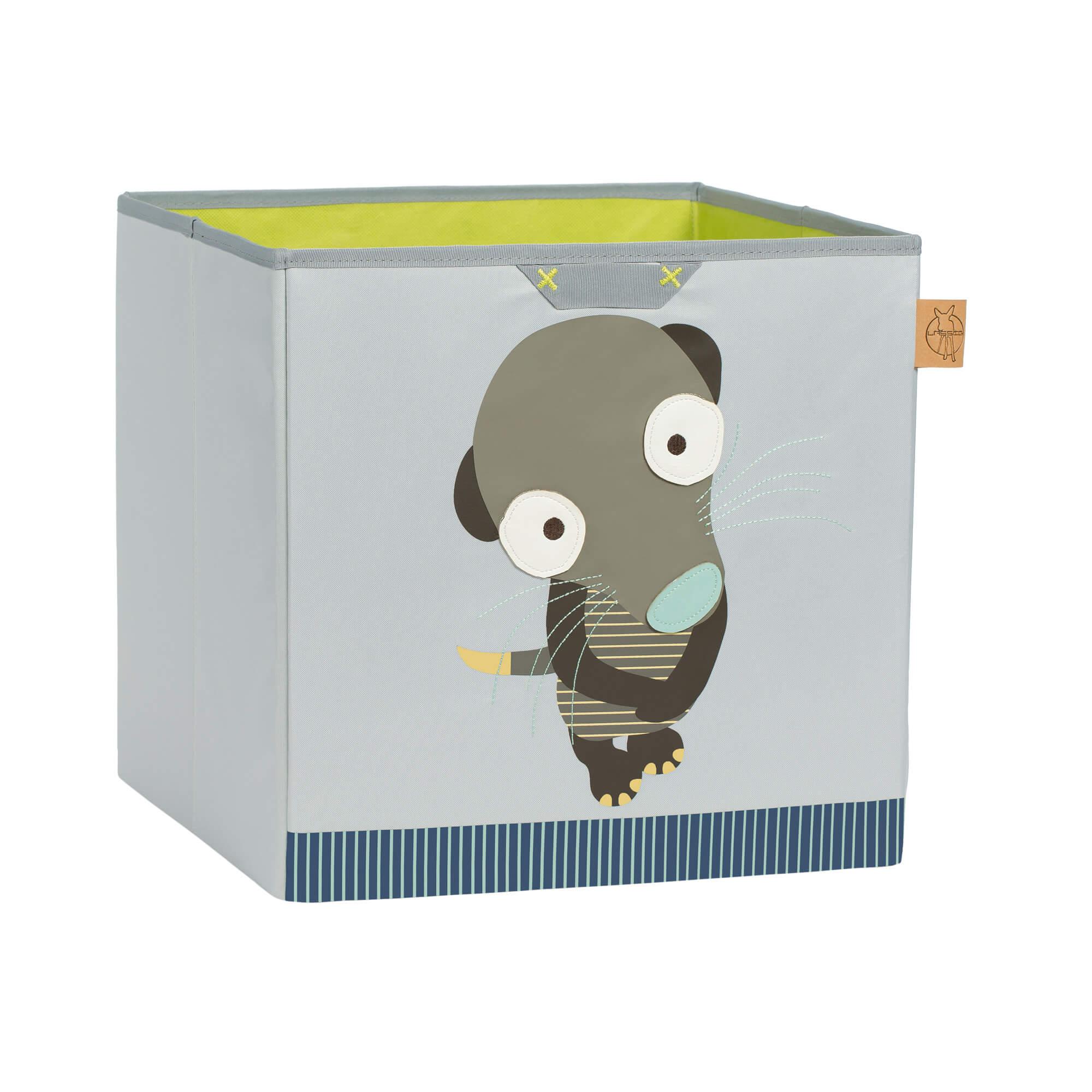Lässig spielzeugbox toy cube storage wildlife meerkat
