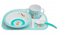 Kindergeschirr Set - Dish Set, Little Tree Fox
